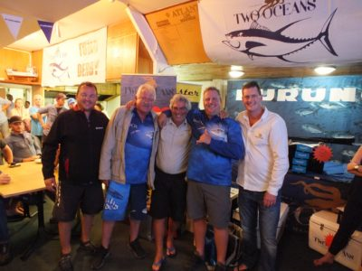 1st prize - two oceans marine tuna derby 2018