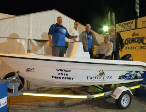 Winner of the 2018 Two Oceans Marine Tuna Derby