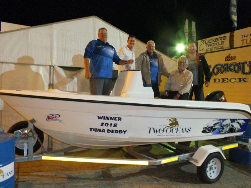 1st prize winner - two oceans marine tuna derby 2018