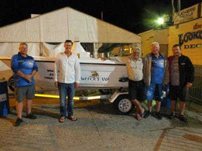 1st prize winners - two oceans marine tuna derby 2018