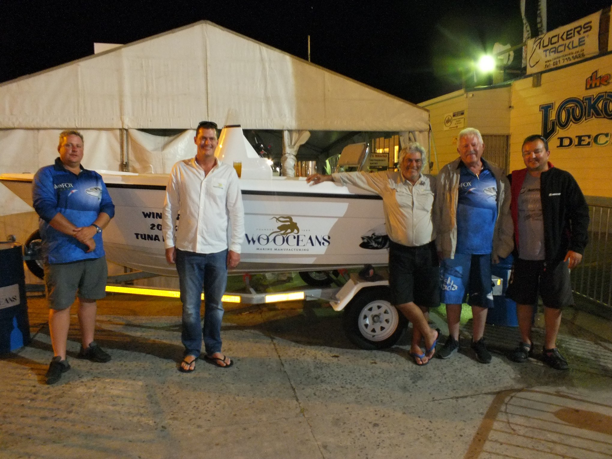 1st prize winners - two oceans marine tuna derby 2018