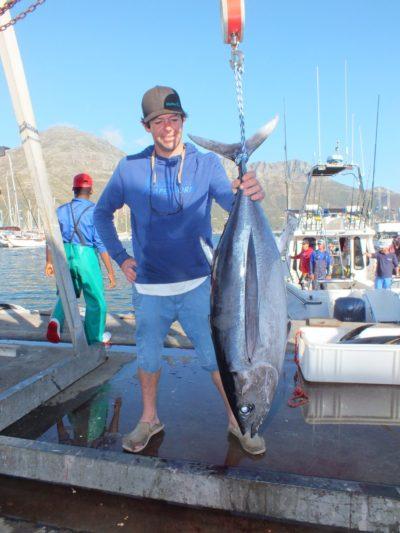 Day 2 longfin tuna - two oceans marine tuna derby 2018