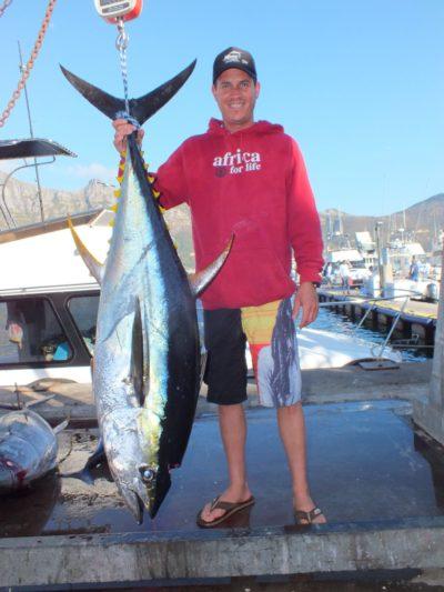 Day 2 yellowfin tuna - two oceans marine tuna derby 2018