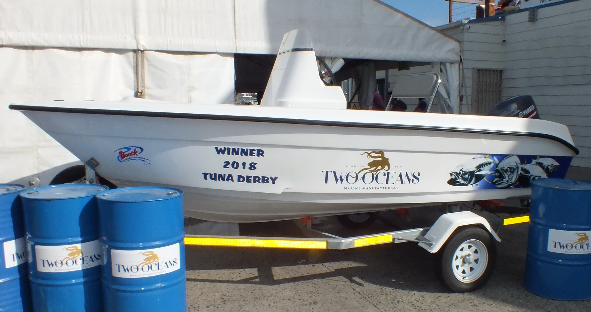two oceans tuna derby 2018 - 1st Prize