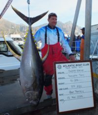 two oceans tuna derby leader board day biggest fish