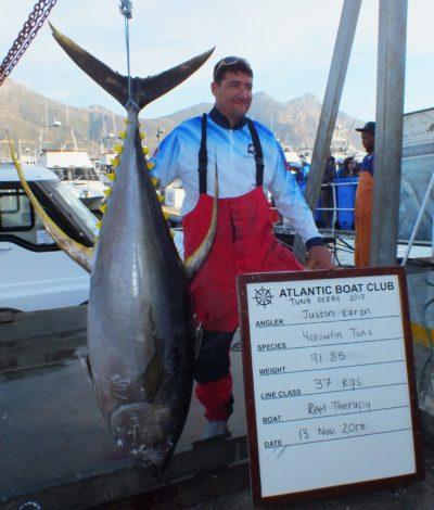 two oceans tuna derby leader board day biggest fish