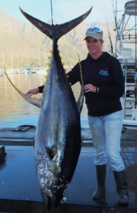 two oceans tuna derby leader board day biggest fish by caught by a lady
