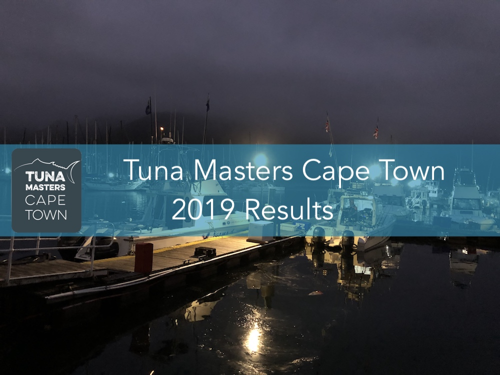 The Tuna Masters Cape Town 2019 Results 1