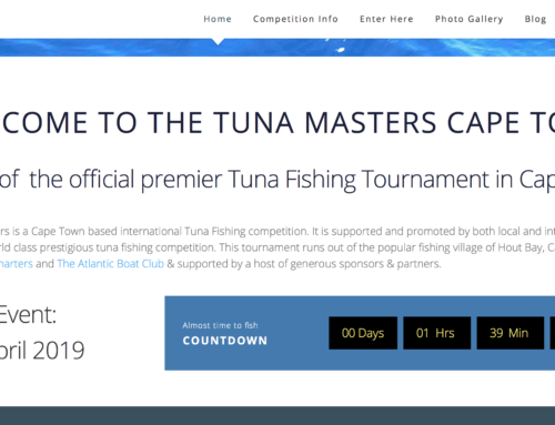 Almost time for the Tuna Masters Cape Town 2019 Launch