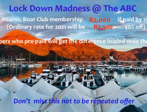 Atlantic Boat Club Membership Lockdown Special