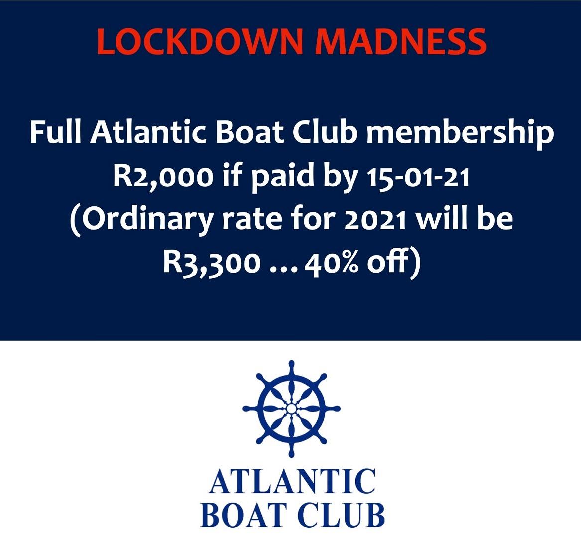 atlantic boat club membership special