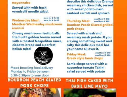 The Jolly Cook Menu 19-23 April