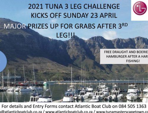 2021 TUNA 3 LEG CHALLENGE