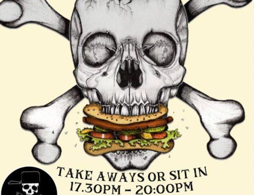 Burger Night At The Atlantic Boat Club
