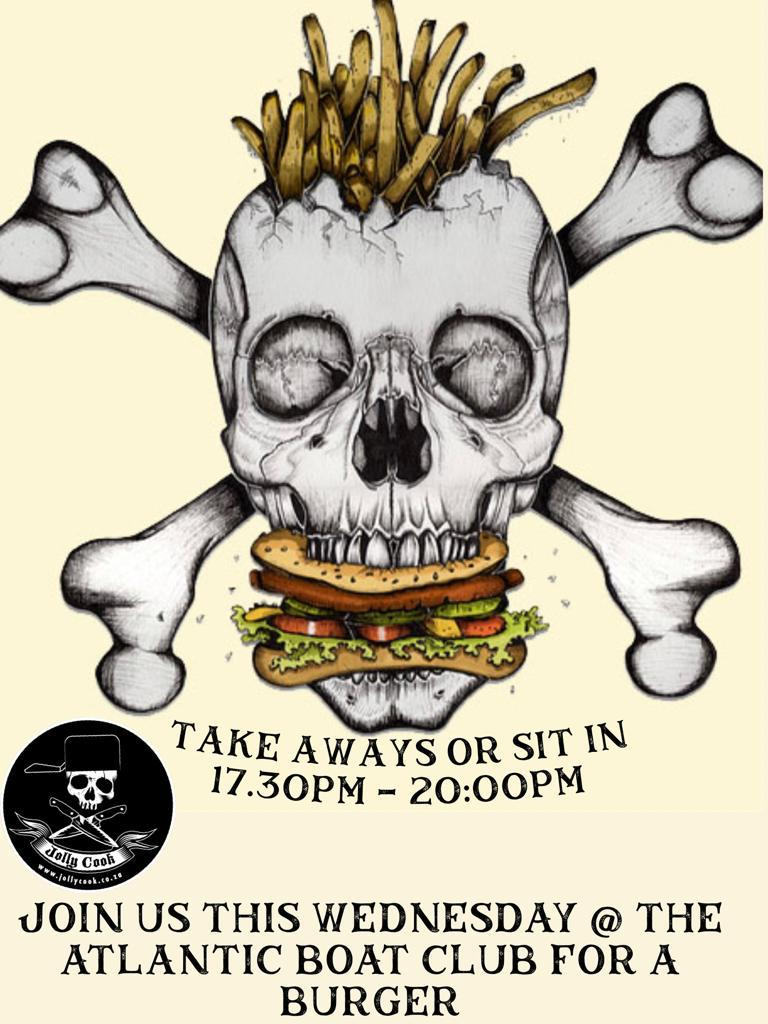 The jolly cook burger night